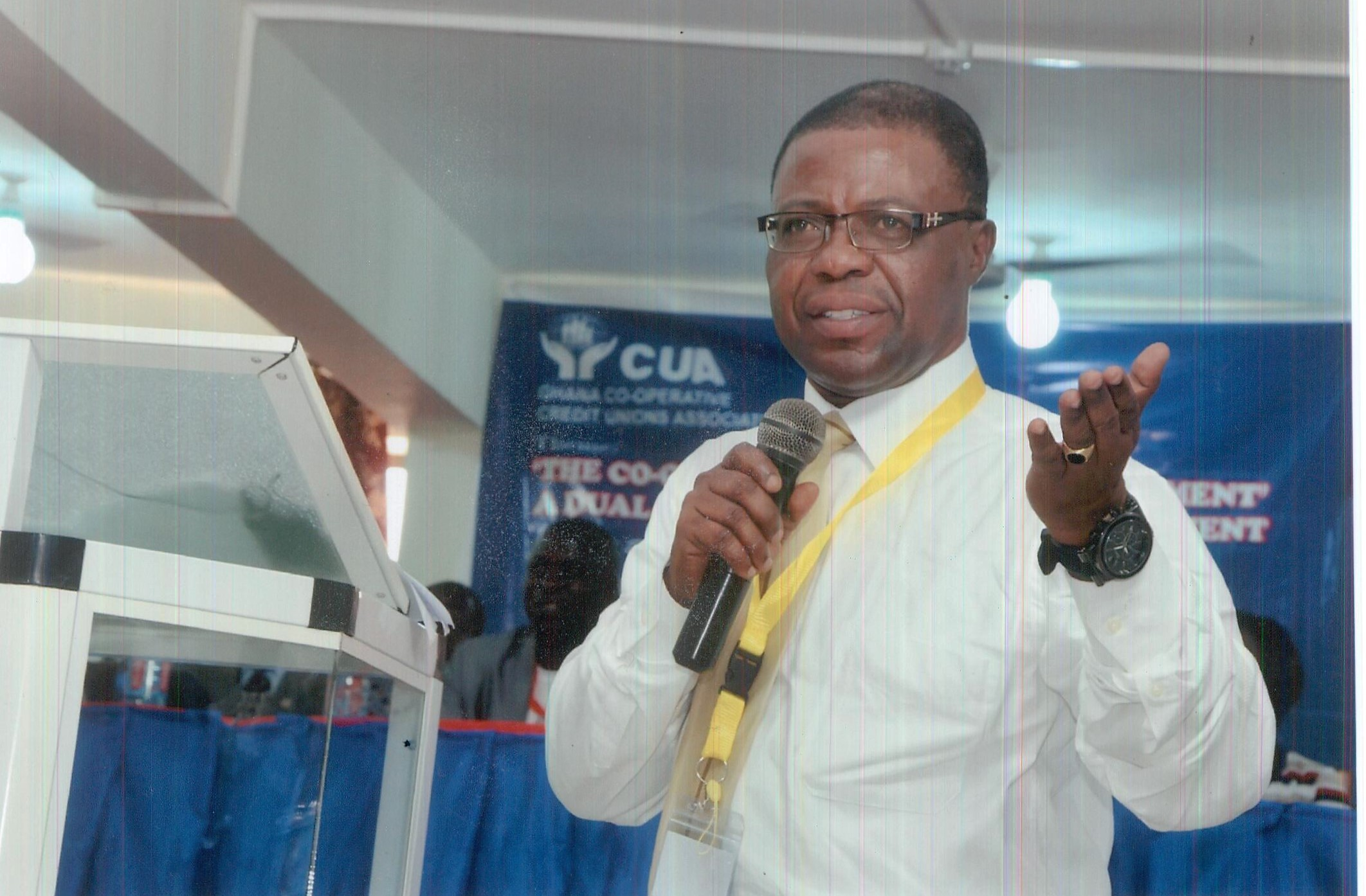 Dr Charles Anane (National CUA Chairman and Board Chairman of KATH CCU)