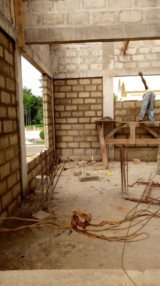 ONGOING WORK AT SITE