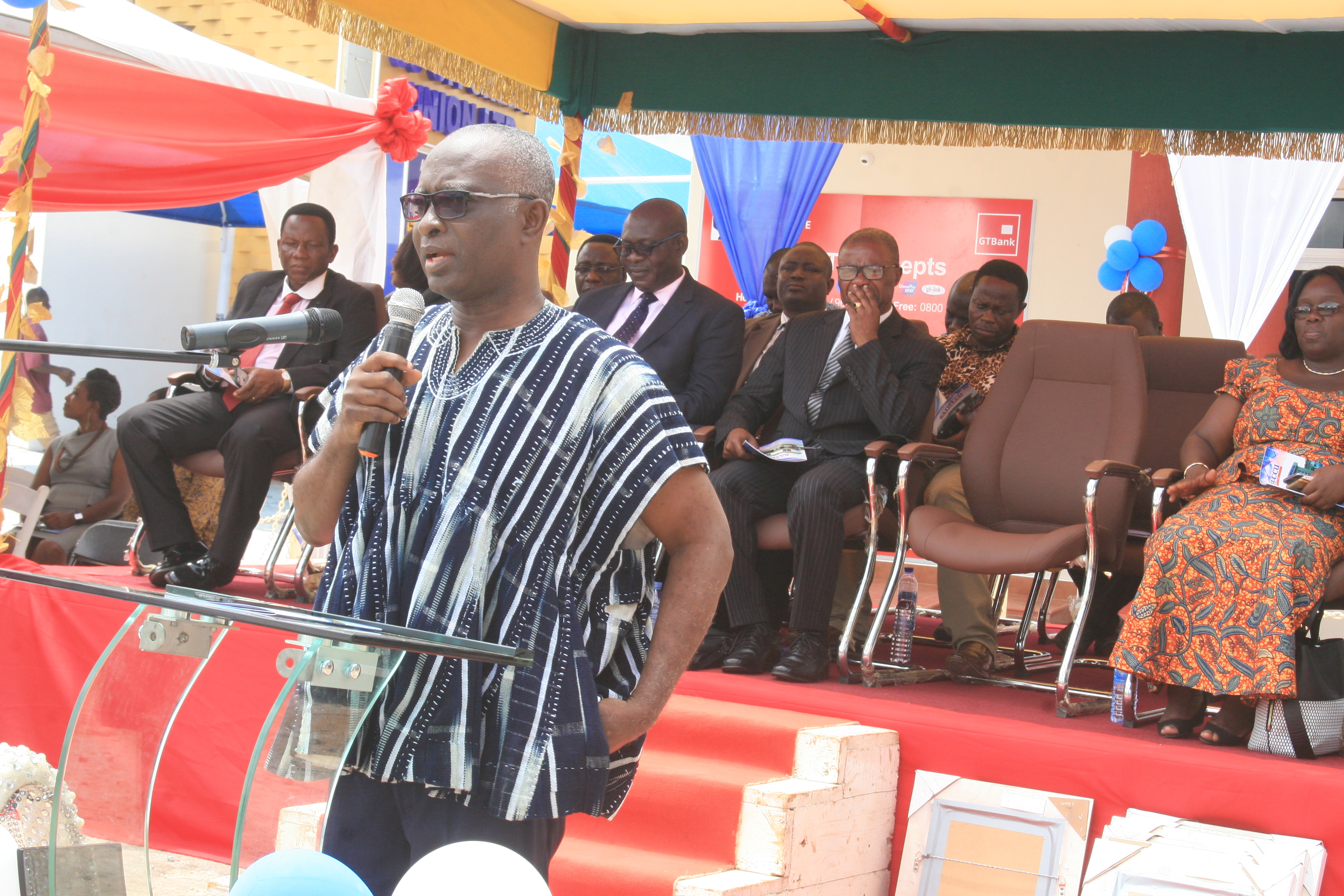 ACCEPTANCE ADDRESS BY CHAIRMAN--- MR ISAIAH OFFEH GYIMAH (FORMER DIRECTOR OF ADMINISTRATION AND FORMER CHAIRMAN OF KATHCCU)