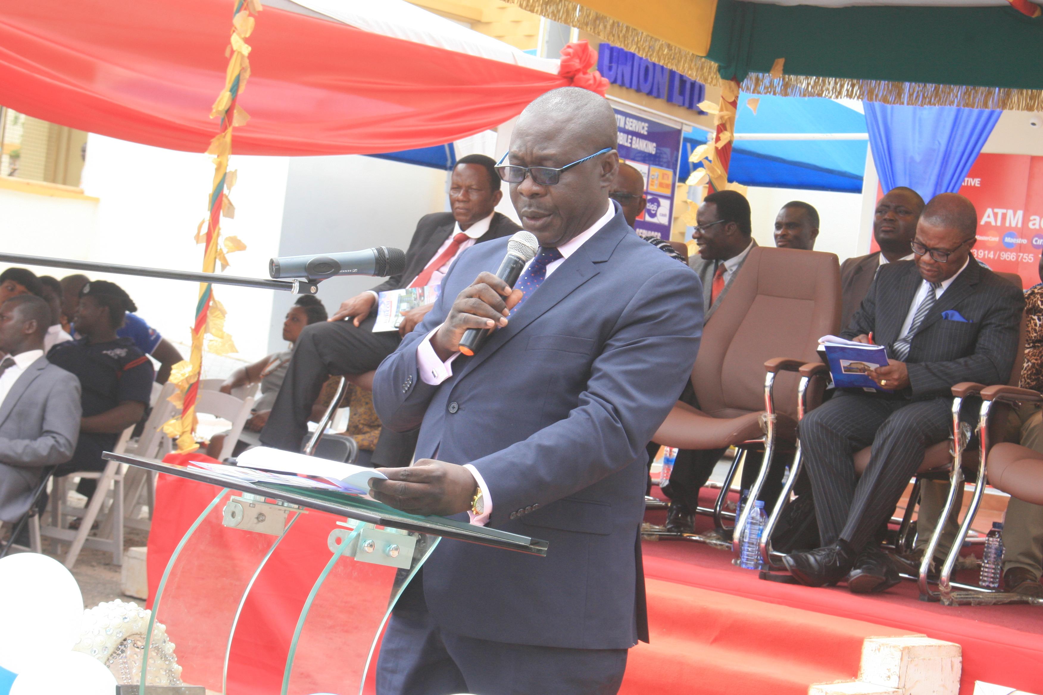 WELCOME ADDRESS--DR FRANK ANKOBEA (PRESIDENT OF GHANA MEDICAL ASSOCIATION/ VICE CHAIRMAN, KATHCCU)