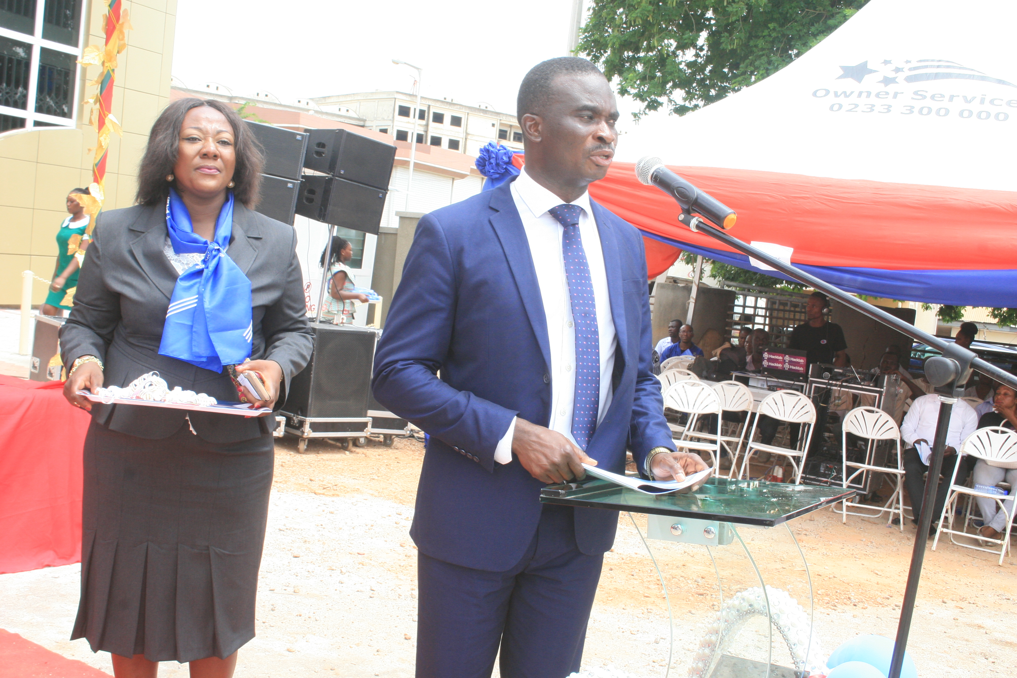 SPEECH BY MR ISAAC OWUSU (MD GOLDPRINT CONSTRUCTION LTD)