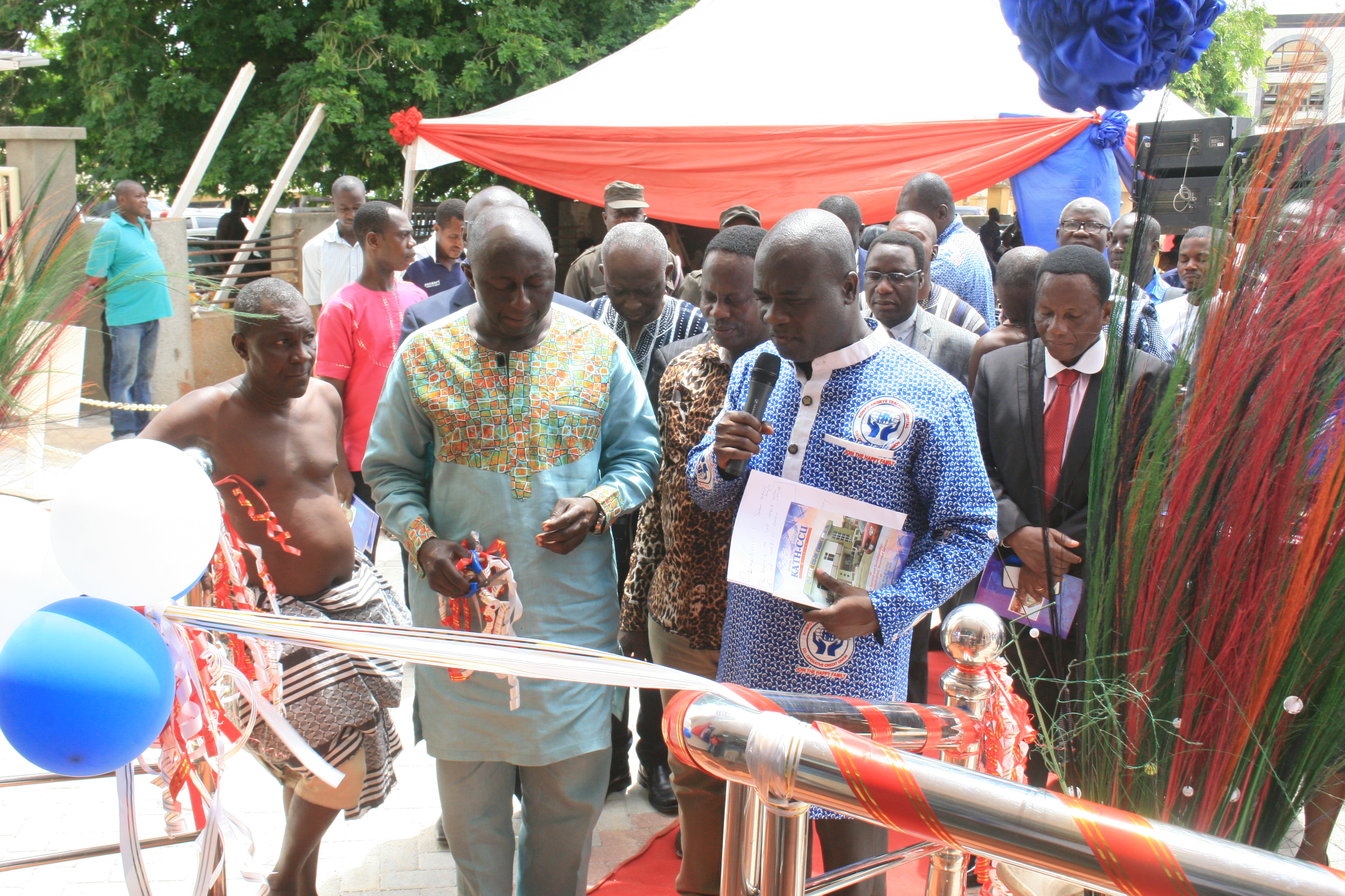 BLESSING OF BUILDING BY DR ANTHONY K ENIMIL